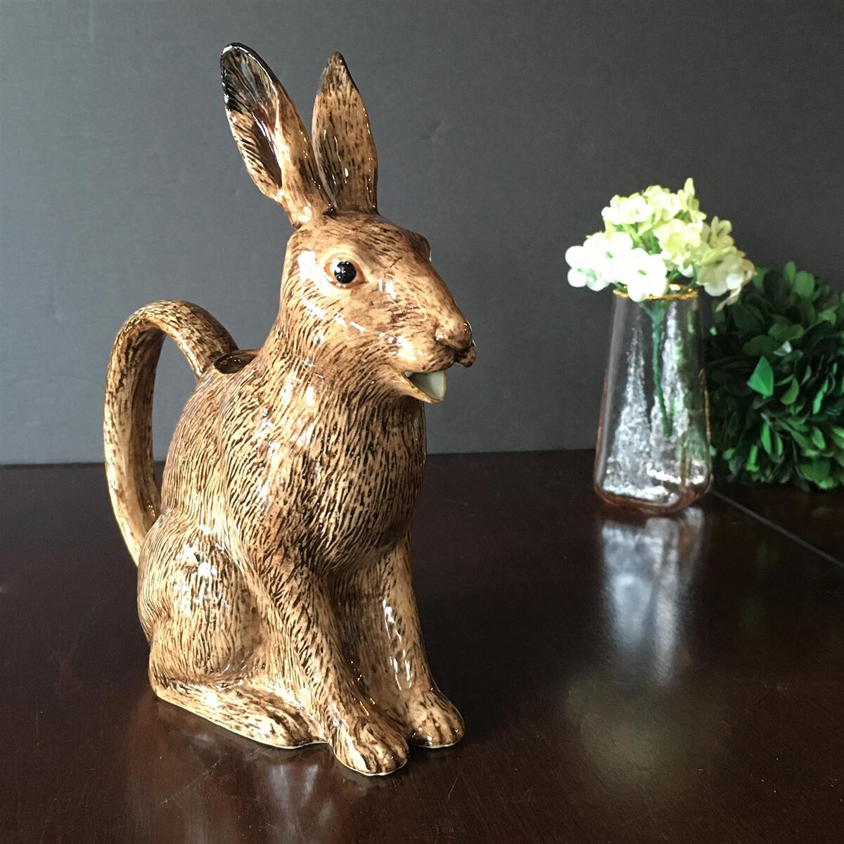 British Hare Pitcher