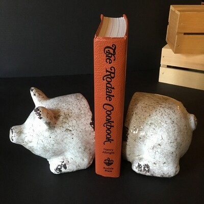 Percival Pig Bookend Set