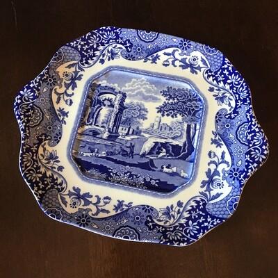 Spode Blue Italian Plate