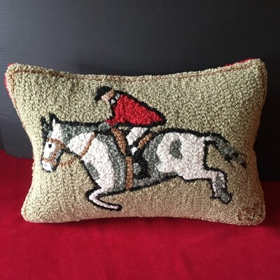Equestrian Jumper Pillow