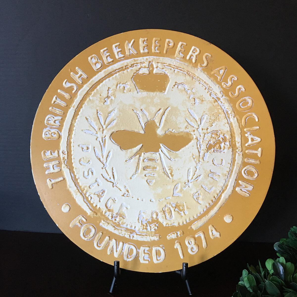 British Bee Keeper's Plaque