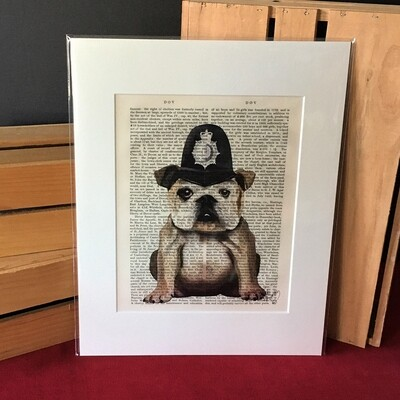 Fab Bulldog Print