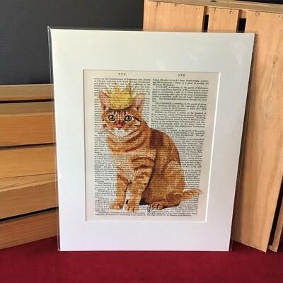 Fab Kitty Print