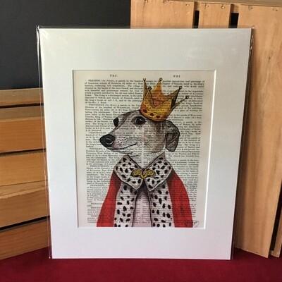 Fab Italian Greyhound Print