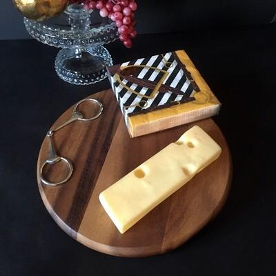 Equestrian Wooden Cheeseboard