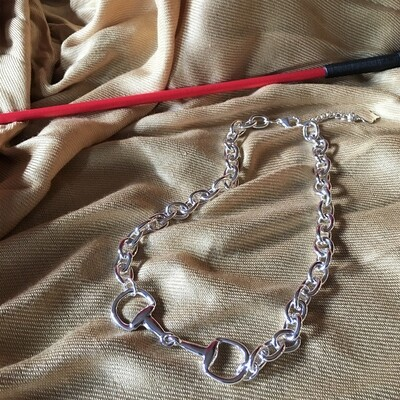 Short Snaffle Bit Necklace
