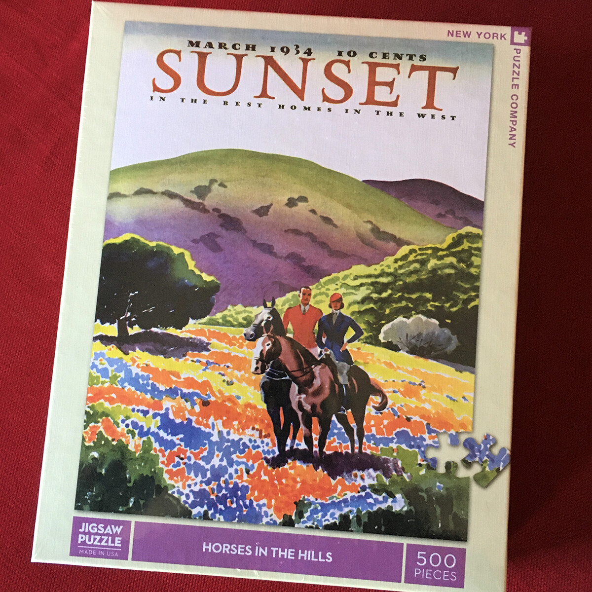 Horses in the Hills Jigsaw Puzzle