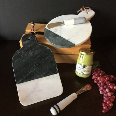 Marble Serving Paddles