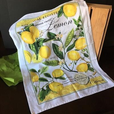 Lovely Lemons Tea Towel