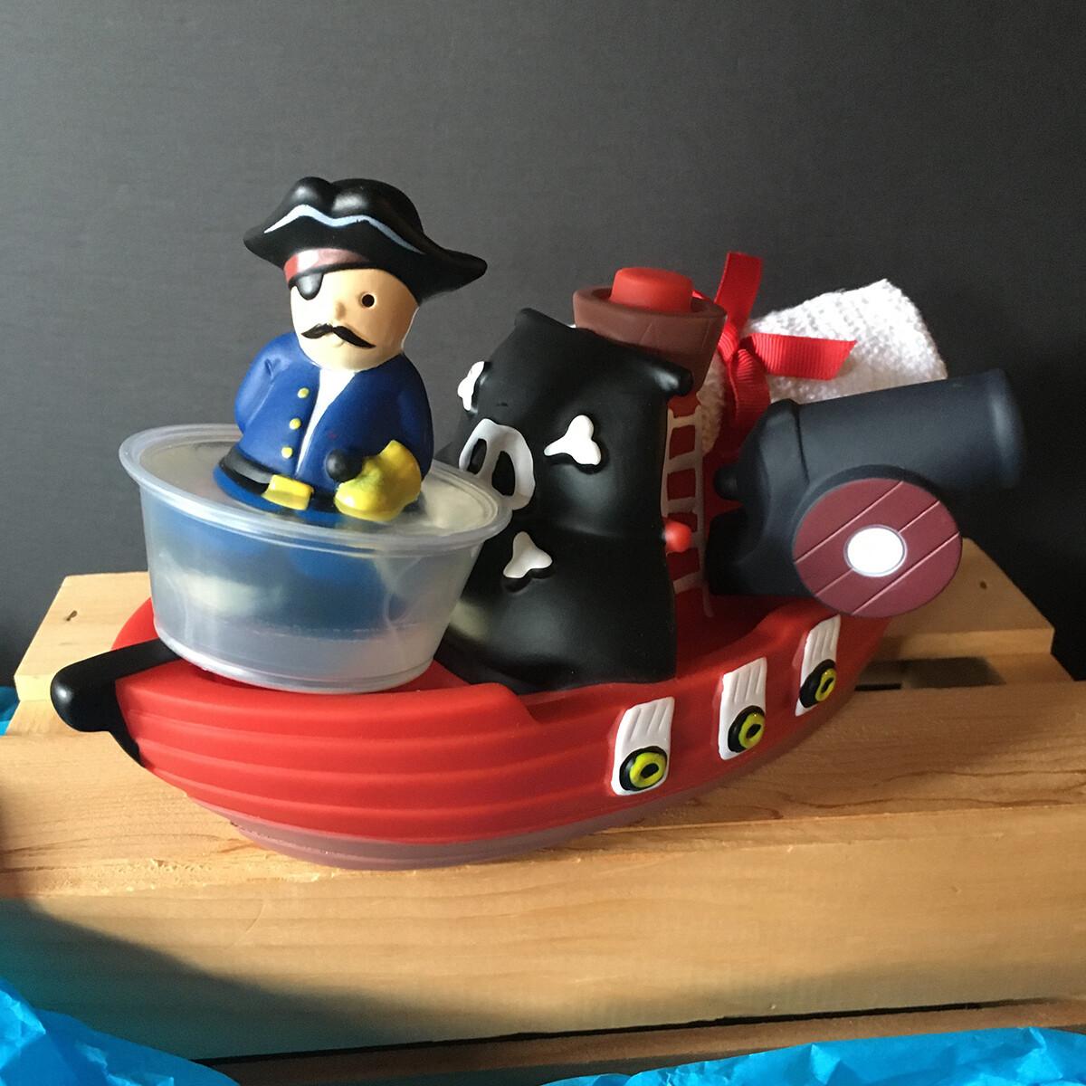 Pirate Ship Tub Play Set
