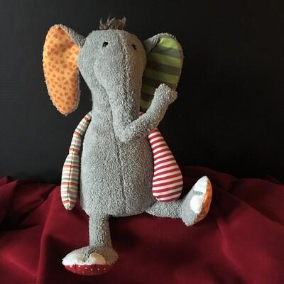 Elliott Elephant Stuffed Child's Toy