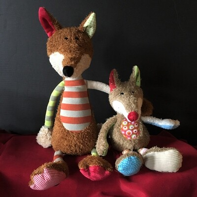 Little Foxes Stuffed Toys