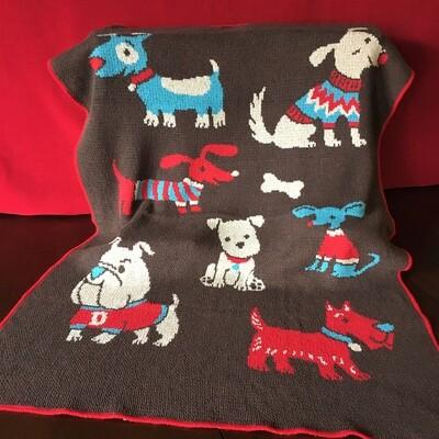 Precious Pups Blanket