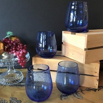 Cobalt Wine Tumblers