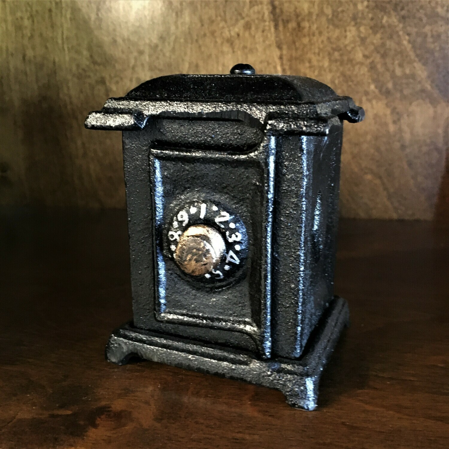 Cast Metal Mini Vault Bank