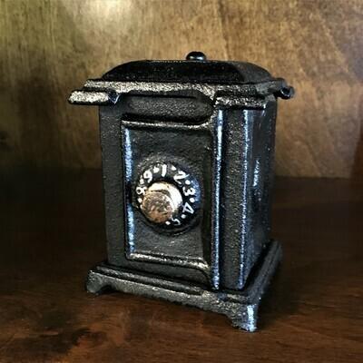 Cast Metal Mini Vault Bank