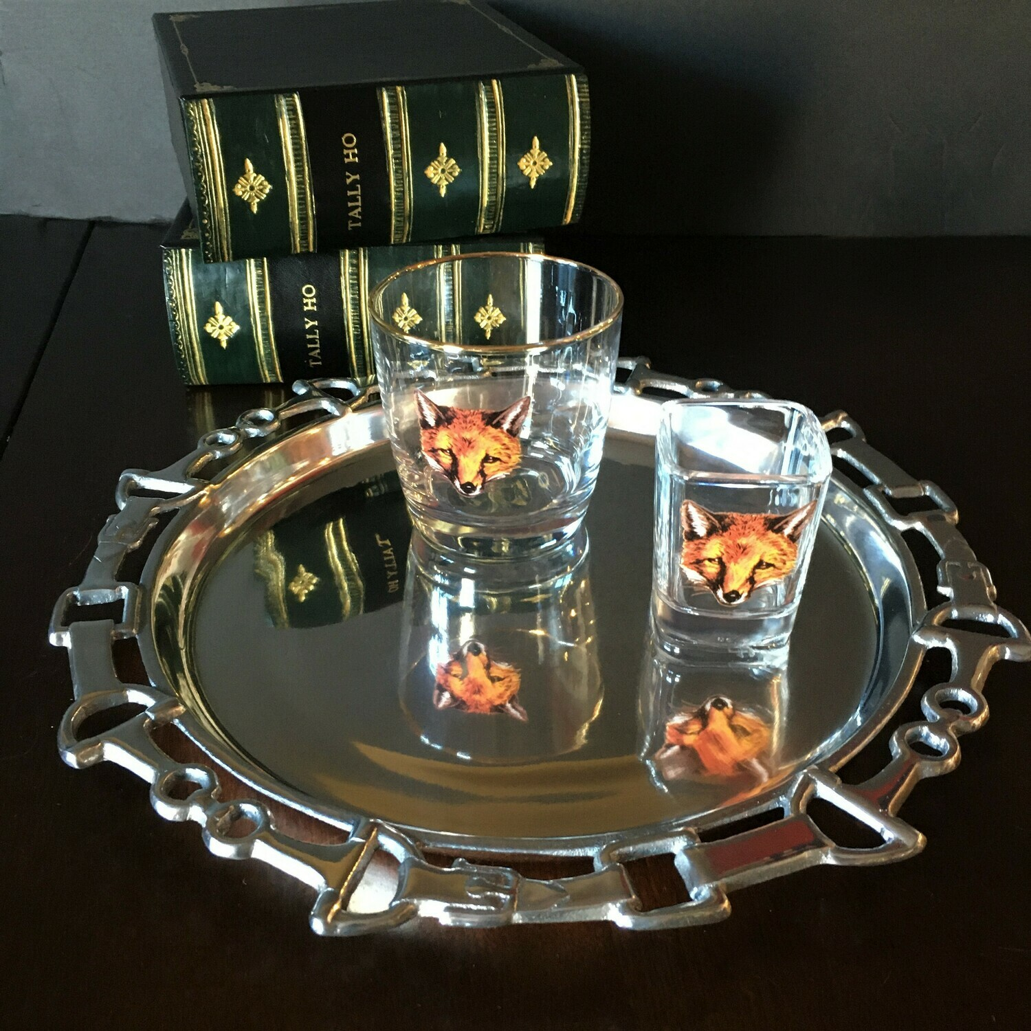 Equestrian Serving Tray