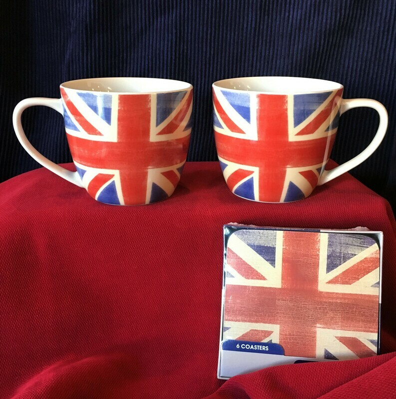 Union Jack Mug and Coaster Set