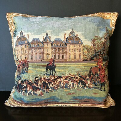 Chateau de Cheverny Tapestry Pillow