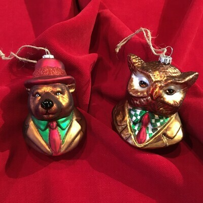 'Wise Guys' Holiday Ornaments