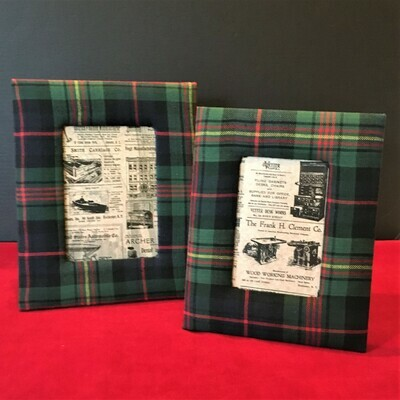 Plaid Photo Frames