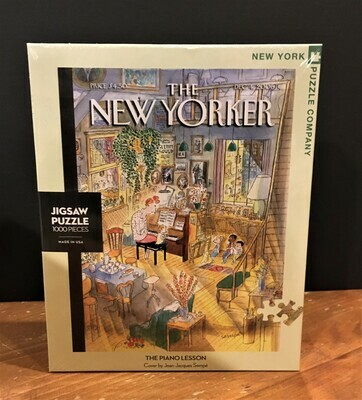 New Yorker Jigsaw Puzzle - The Piano Lesson