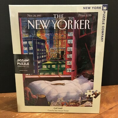 New Yorker Jigsaw Puzzle - Cat Nap