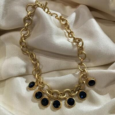 Westwood Cobalt Toggle Necklace
