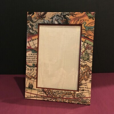 World Map 4x6 Photo Frame