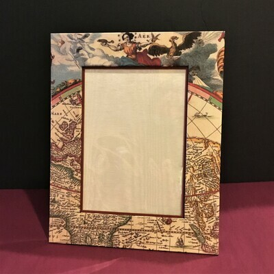 World Map 5x7 Photo Frame