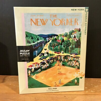New Yorker Jigsaw Puzzle - Ball Park
