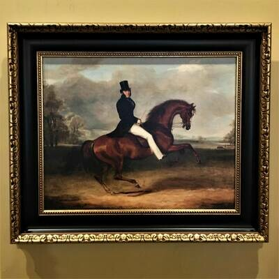 Earl of Chesterfield Framed Canvas