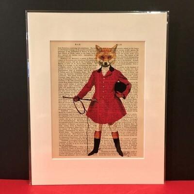 Fab Fox Print