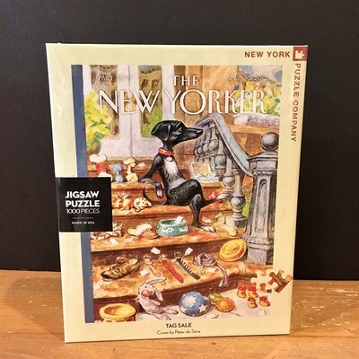 New Yorker Jigsaw Puzzle - Tag Sale