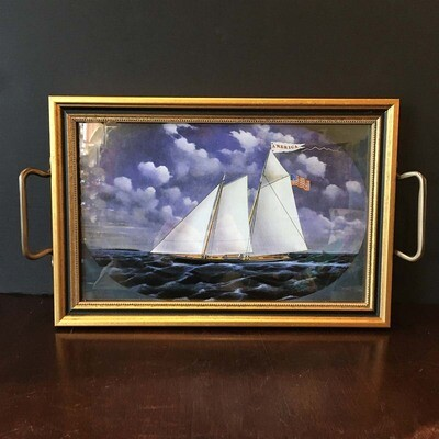 Nautical Accent & Serving Tray