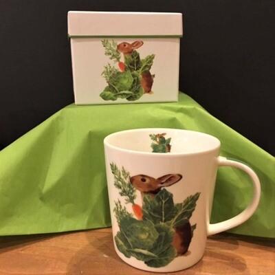 Garden Bunny  Gift-Boxed Mug