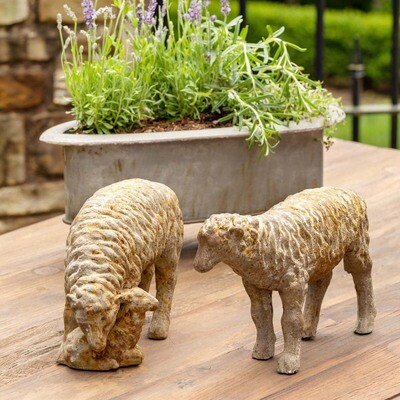 French Country Sheep Accent Pieces
