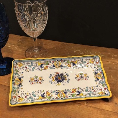 Tuscany Rooster Melamine Biscuit Tray