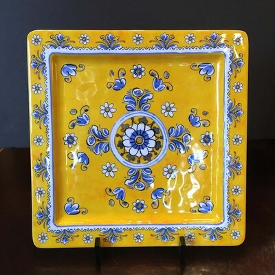 Benidorm Square Melamine Serving Plate