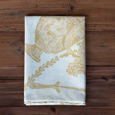 French Quarter Gold Cloth Napkin Set