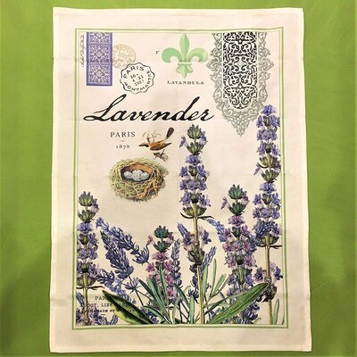 Lavender Fields Hand/Tea Towel