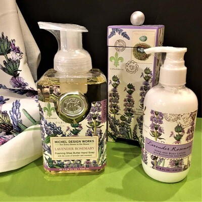 Lavender Rosemary Hand & Skin Care Collection