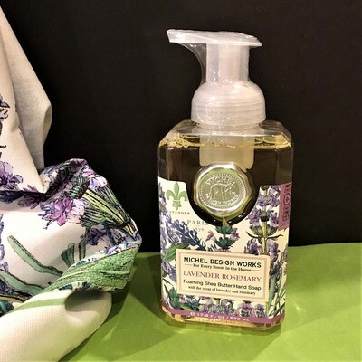 Lavender Rosemary Foaming Pump Soap
