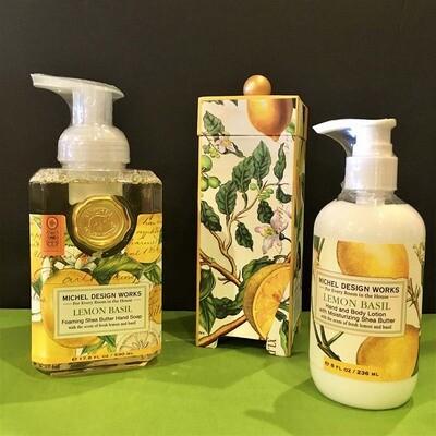Lemon Basil Hand & Skin Care Collection