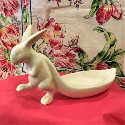 Springtime Rabbit Candy Dish