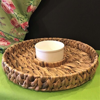 Water Hyacinth Chip & Dip Set