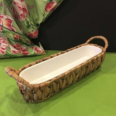 Water Hyacinth Cracker Dish Set