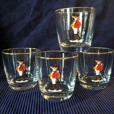 Snooty Fox Tapered Old-Fashioned Glassware Set