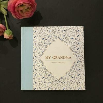 Grandmother Living History Book