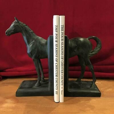Balmoral Horse Bookends